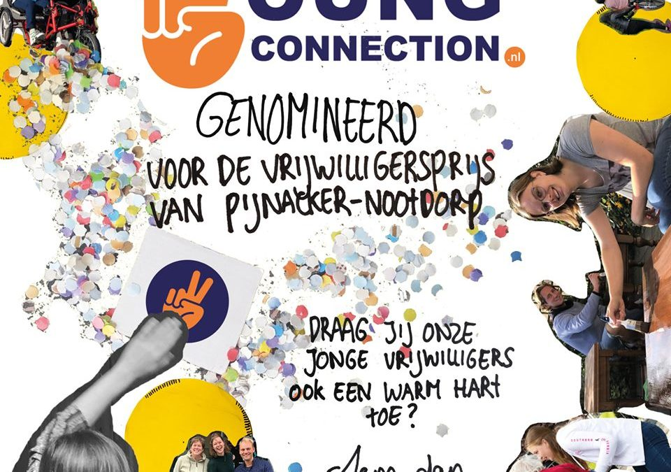 Vrijwilligersprijs: Stem op ons!