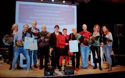 Tweede plek Vrijwilligersprijs