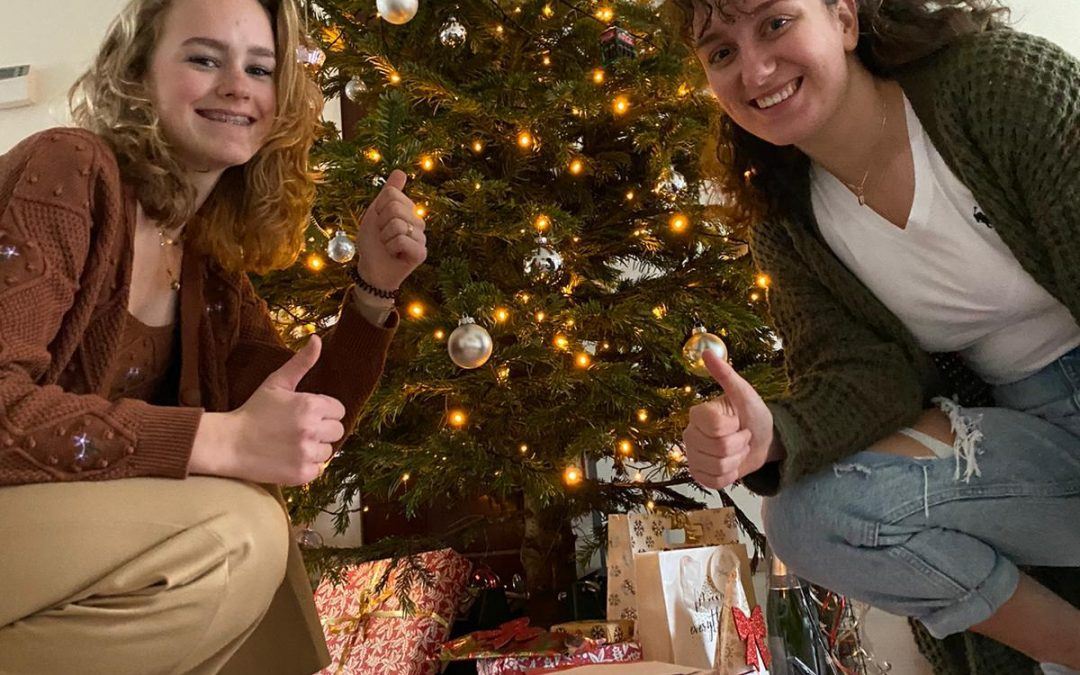 Kerstkaartenactie Montaigne Lyceum een groot succes!